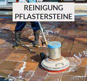 Pflastersteine Reinigung Frankfurt